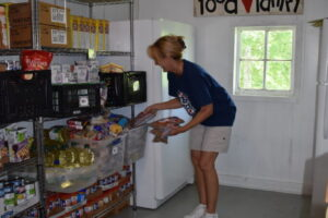 Anderson Food Pantry.