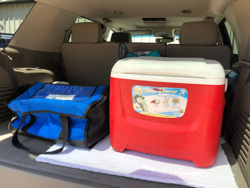 meals on wheels cooler boxes