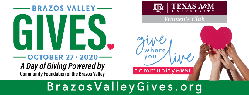 Brazos Valley Gives on Oct 27
